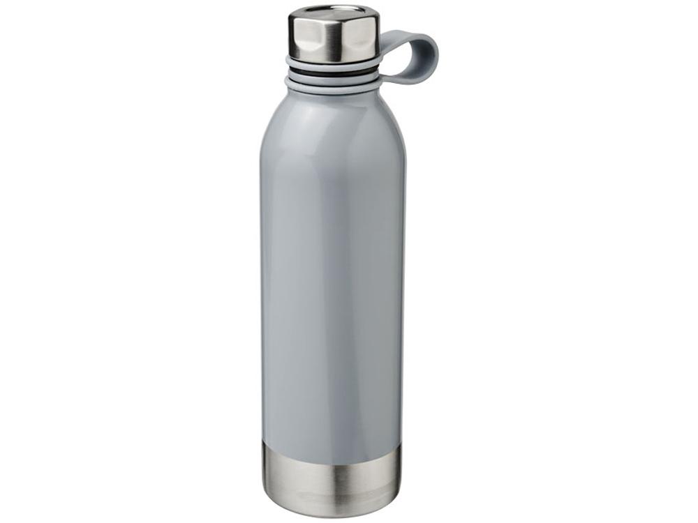 Спортивная бутылка из нержавеющей стали Perth объемом 740мл, серый
