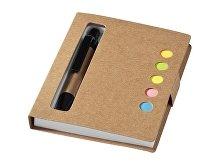 Набор стикеров «Reveal» с ручкой и блокнотом А7 (арт. 10659400)