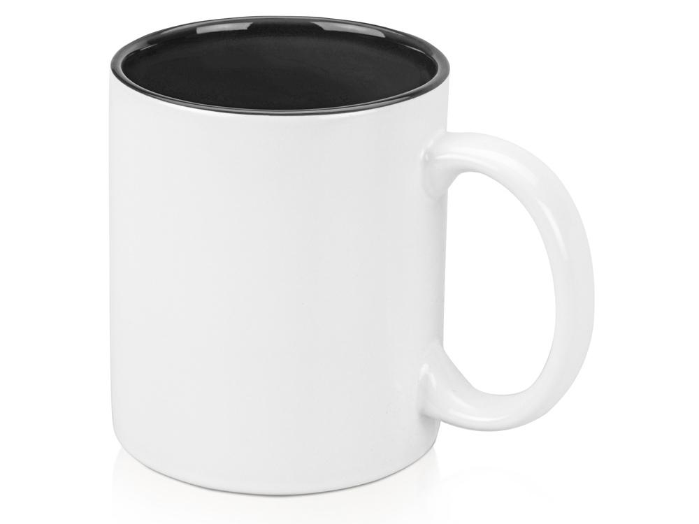 Кружка Gain 320мл, белый/черный