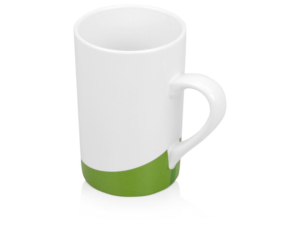 Кружка Мерсер 320мл, белый/зеленый