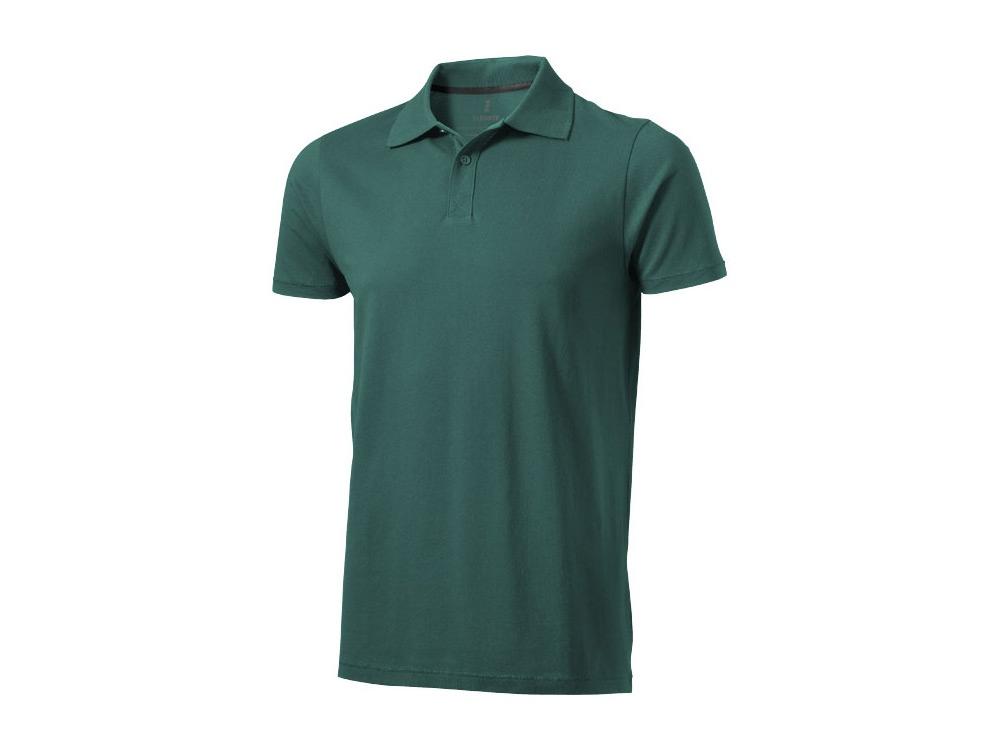 Рубашка поло Seller мужская, изумрудный