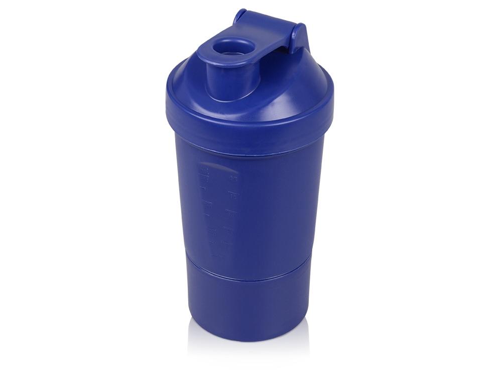 Шейкер для спортивного питания Level Up, синий