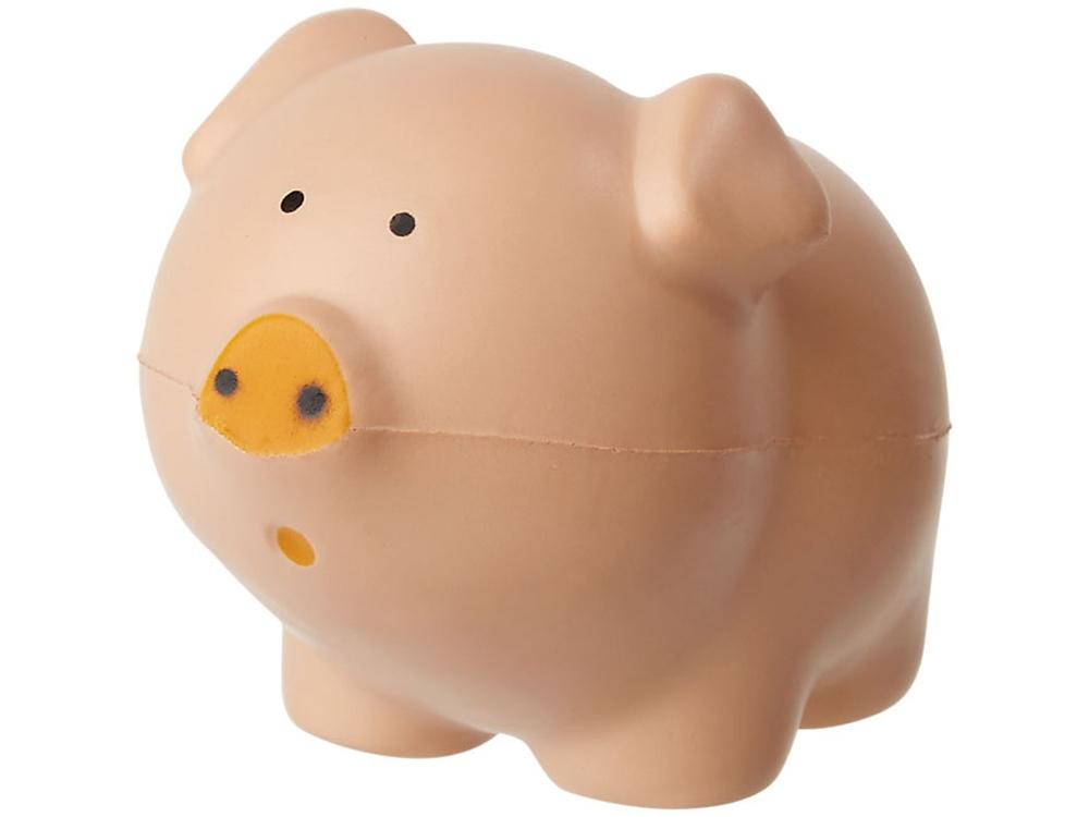 Антистресс Pierce в форме свиньи, розовый