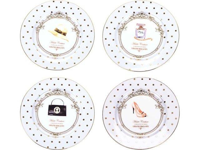 Набор  десертных тарелок «Женский каприз» (арт. 82179)