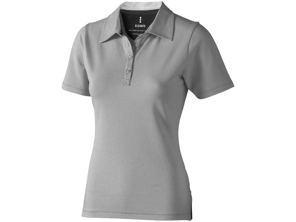 Рубашка поло Markham женская, серый меланж/антрацит