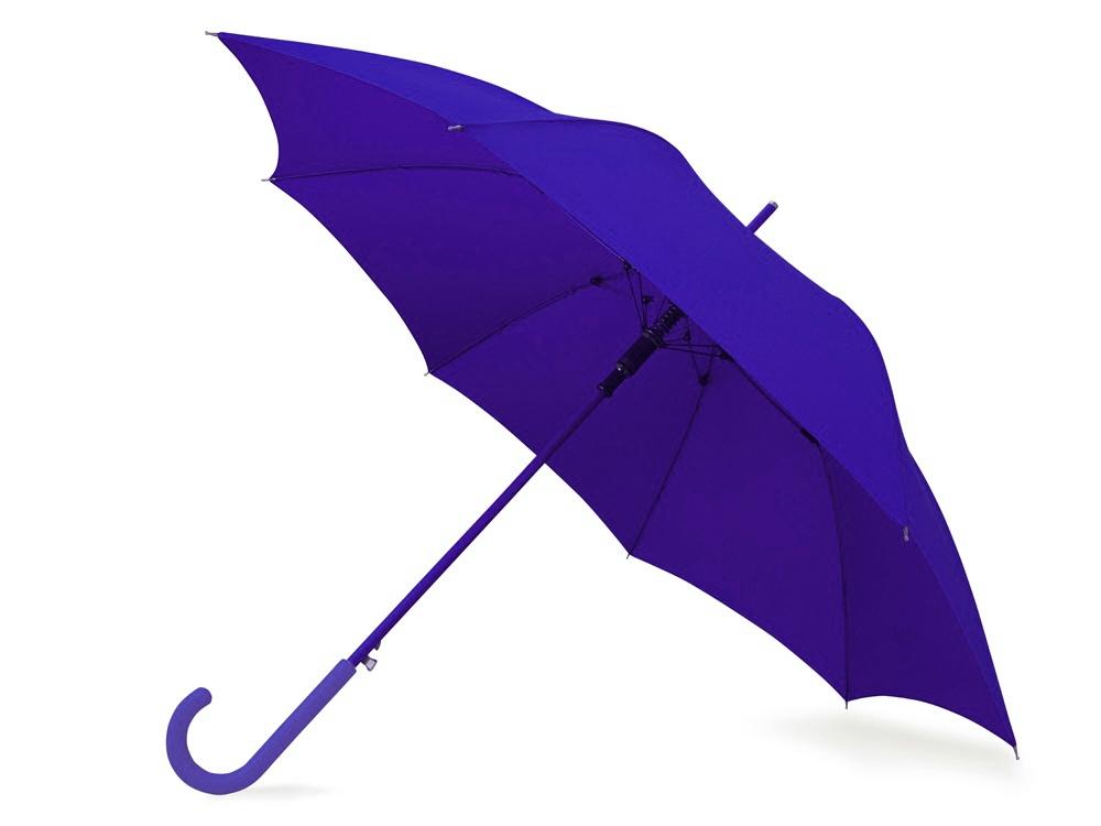 Зонт-трость Color полуавтомат, темно-синий