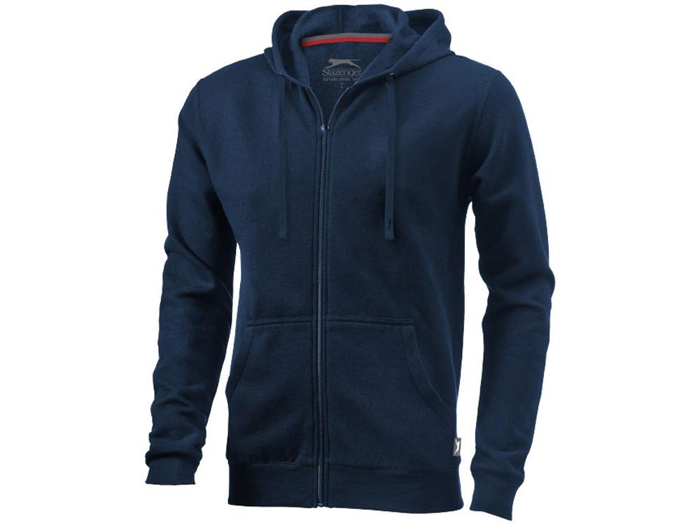 Толстовка Open мужская с капюшоном, темно-синий