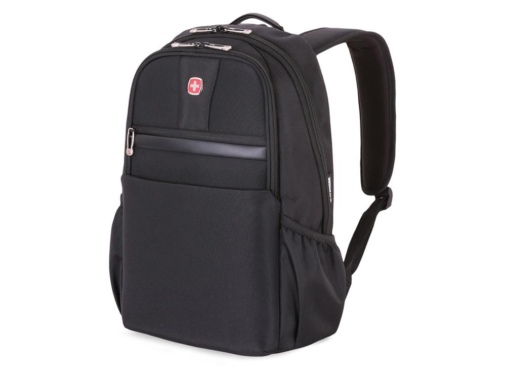 Рюкзак 21л с отделением для ноутбука 15''. Wenger, черный
