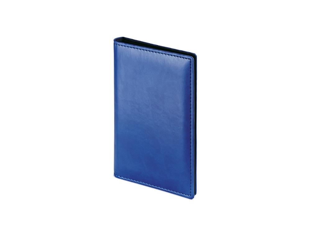 Визитница А5 Velvet, синий
