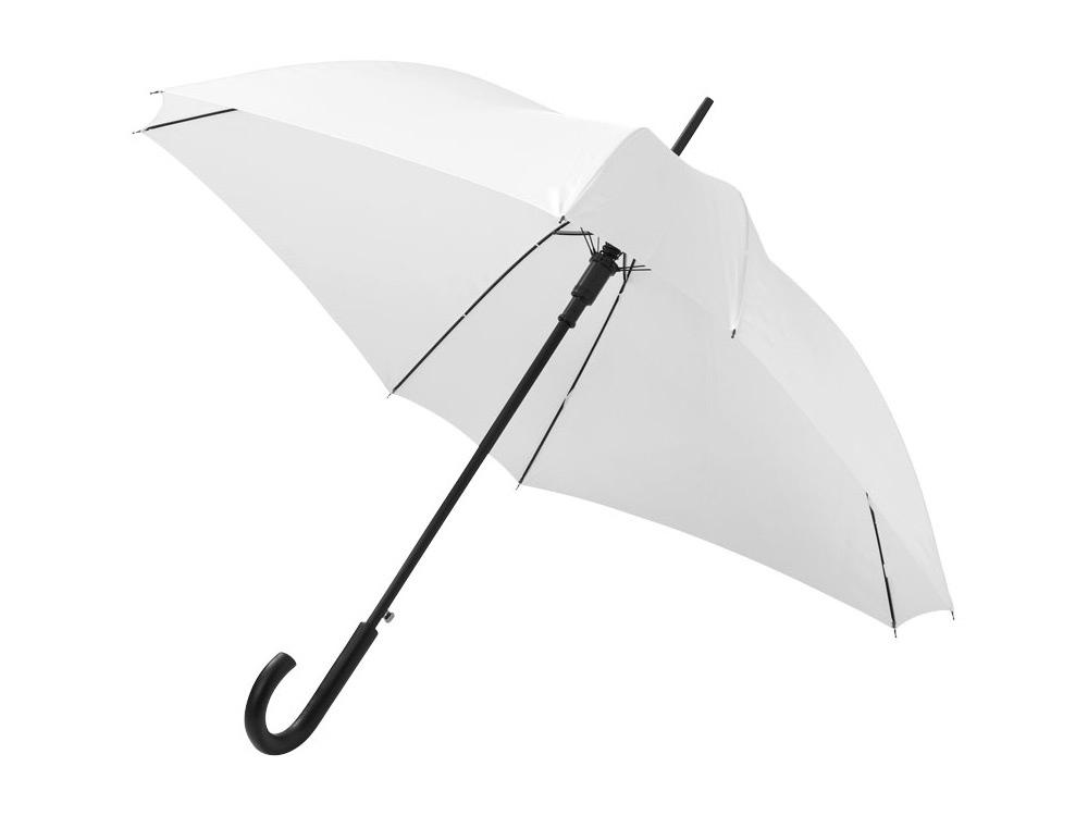 Зонт-трость Neki, полуавтомат 23,5, белый