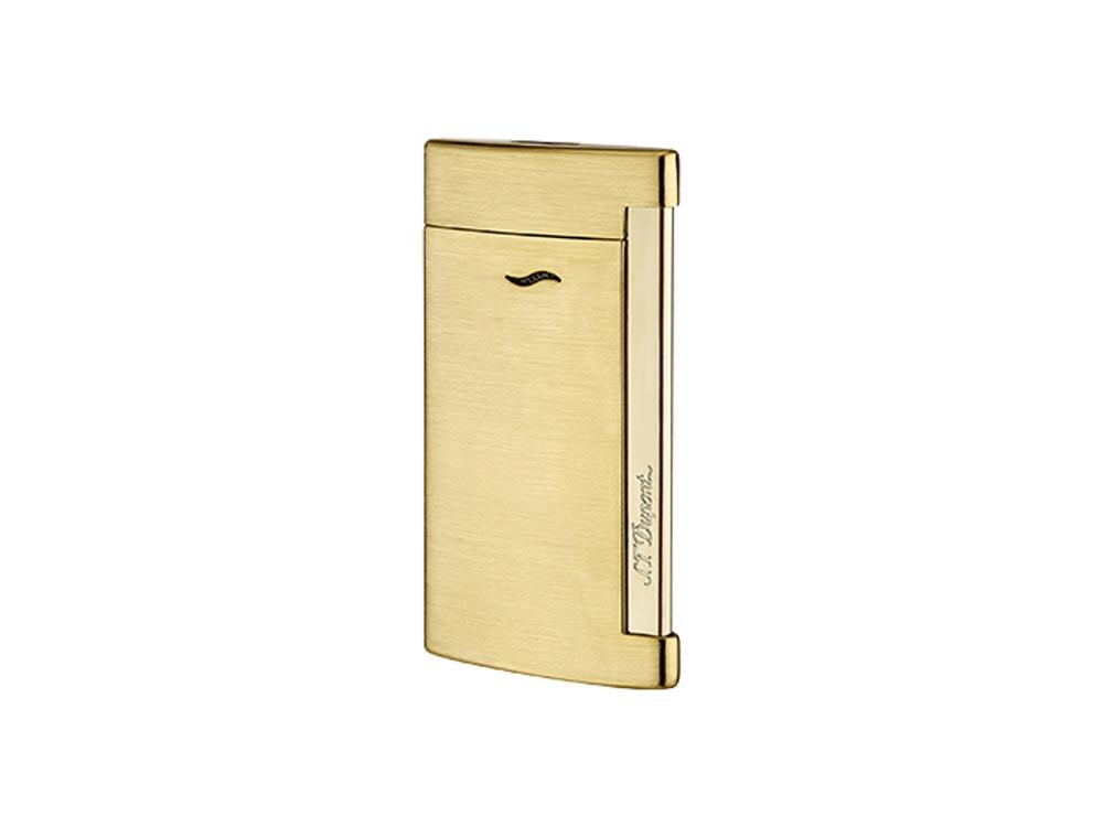 Зажигалка Slim 7. S.T. Dupont, золотистый