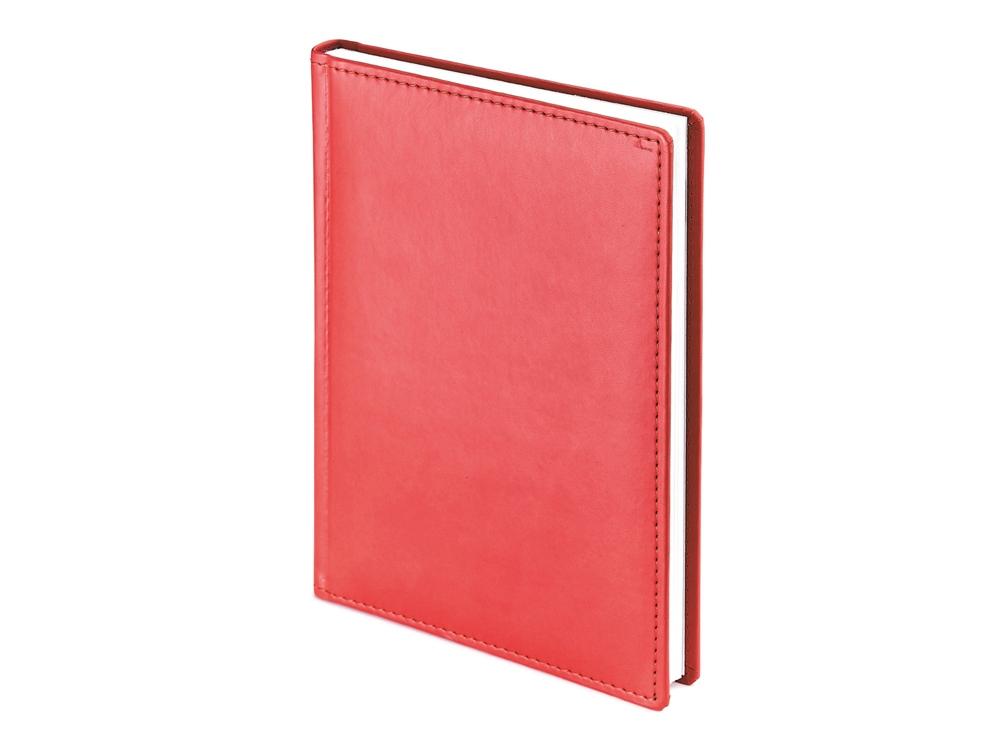 Ежедневник А5 датированный Velvet 2020, красный