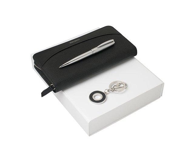 Подарочный набор Embrun: брелок, дорожный кошелек, ручка шариков