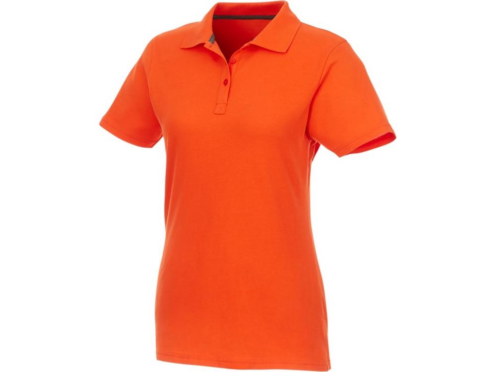 Женское поло Helios с коротким рукавом, оранжевый