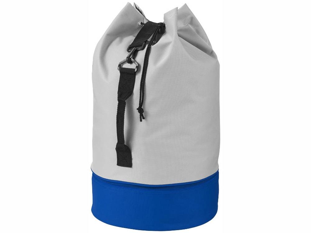 Вещмешок Dipp, серый/ярко-синий
