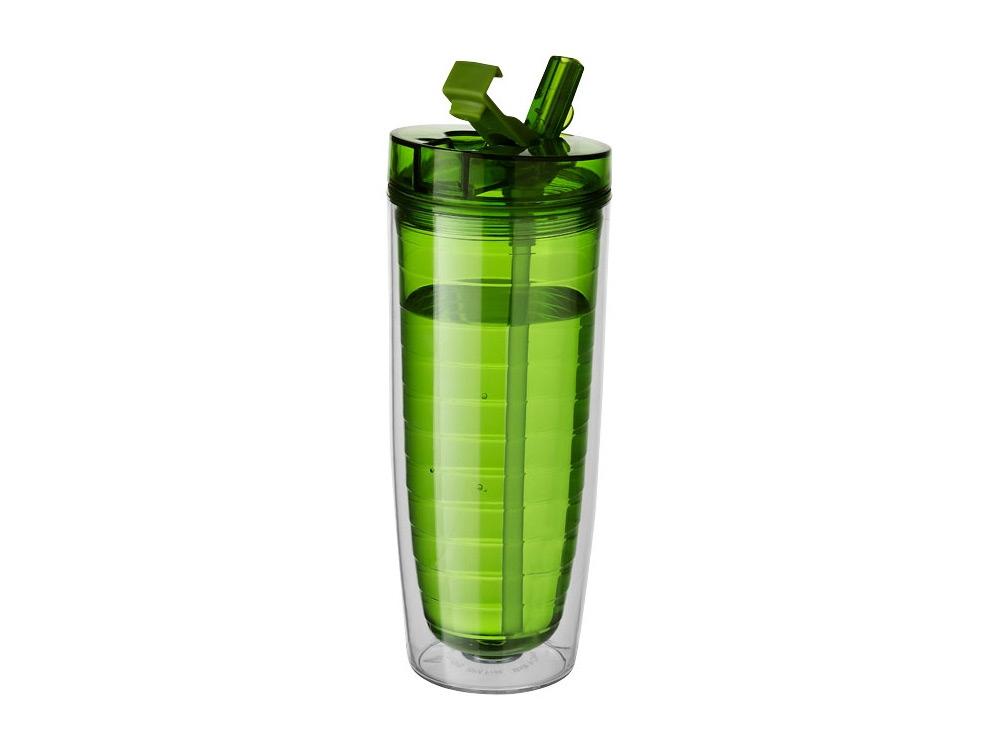 Термостакан Sippe, зеленый прозрачный