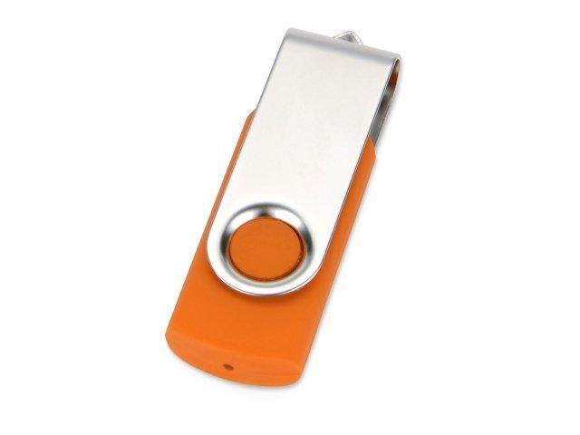 Флеш-карта USB 2.0 512 Mb «Квебек», оранжевый