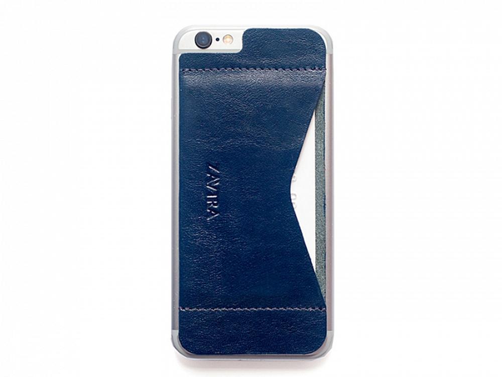 Кошелек-накладка на iPhone 6/6s, синий
