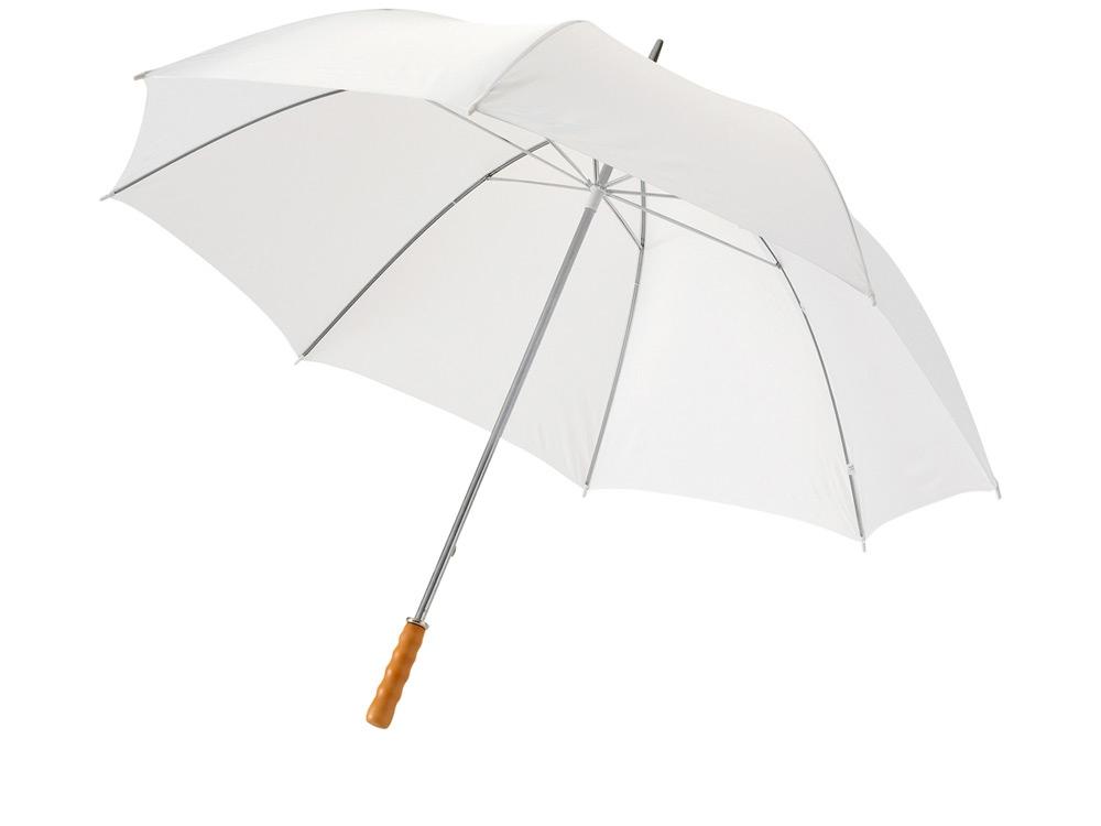 Зонт-трость для гольфа 30, белый
