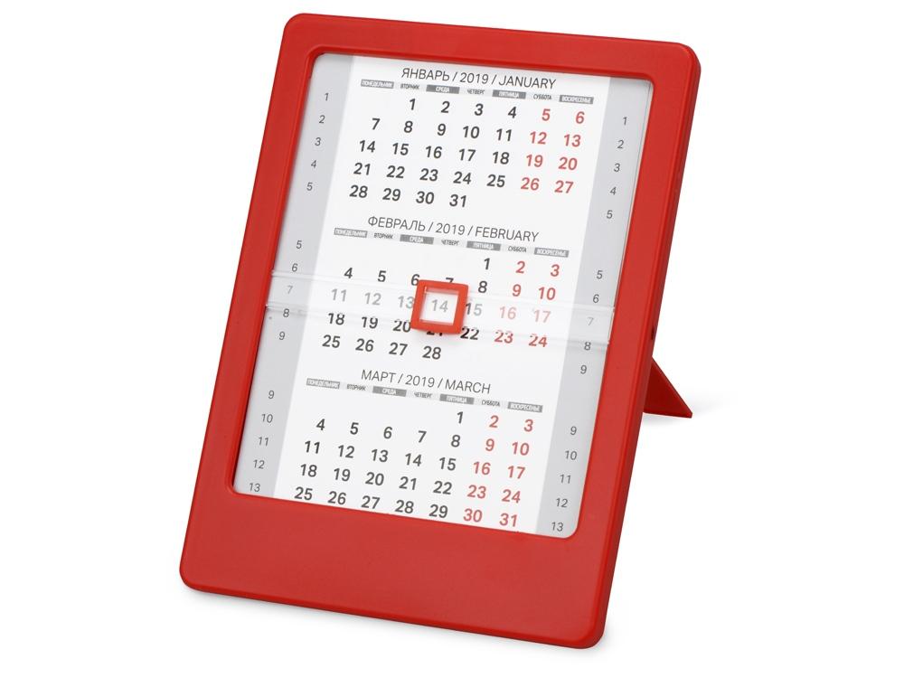 Календарь Офисный помощник, красный