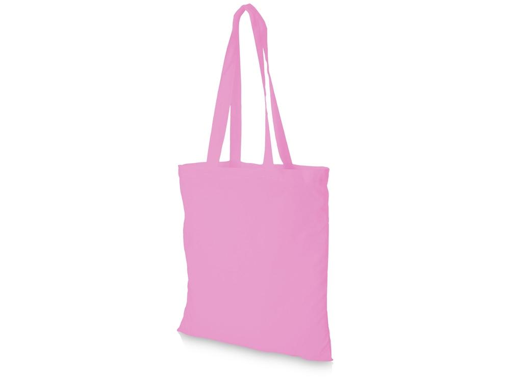 Хлопковая сумка Madras, розовый