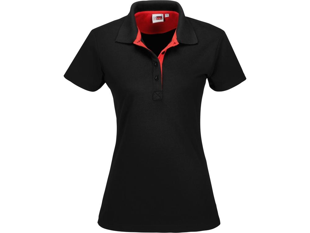 Рубашка поло Solo женская, красный
