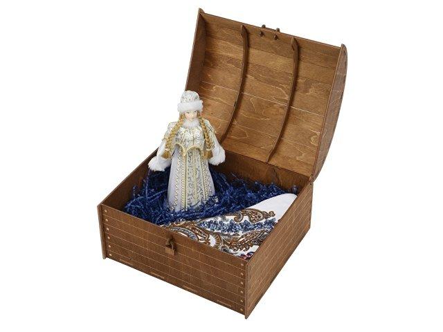 Подарочный набор «Снегурочка»: кукла, платок
