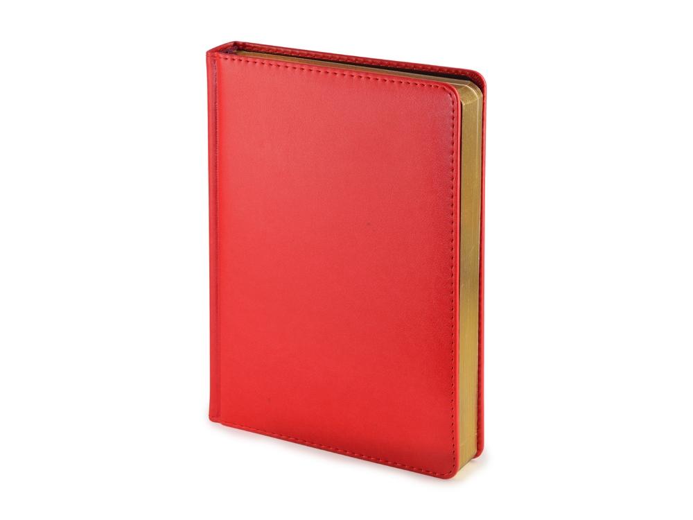 Ежедневник недатированный А5 Parliament, красный