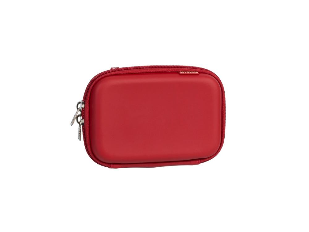 Чехол для жесткого диска из кожзама 9101, красный