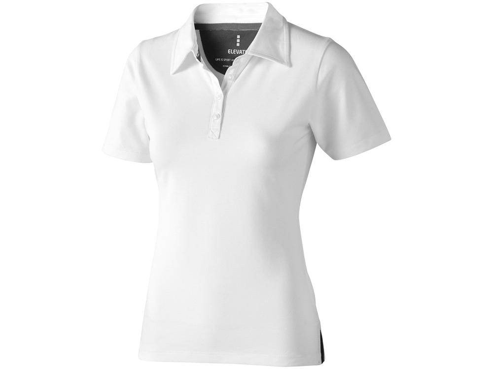 Рубашка поло Markham женская, белый/антрацит