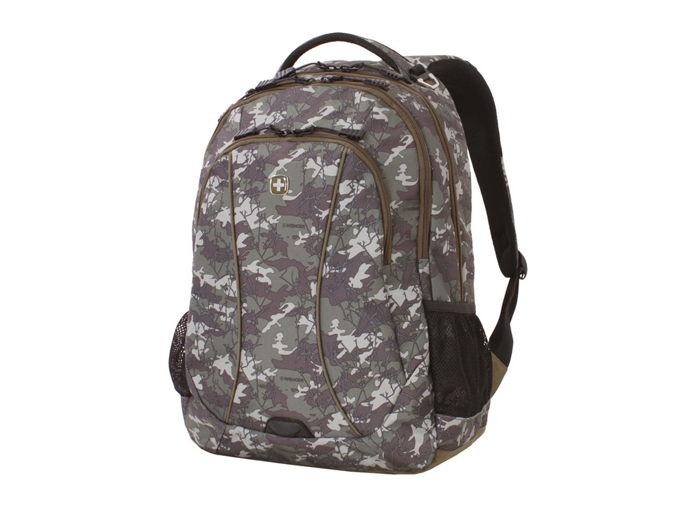 Рюкзак 34л с отделением для ноутбука 15''. Wenger, камуфляж