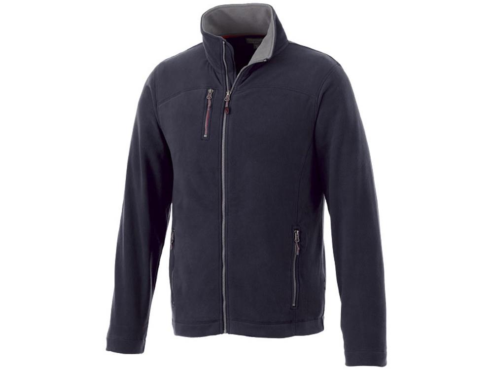 Микрофлисовая куртка Pitch, темно-синий