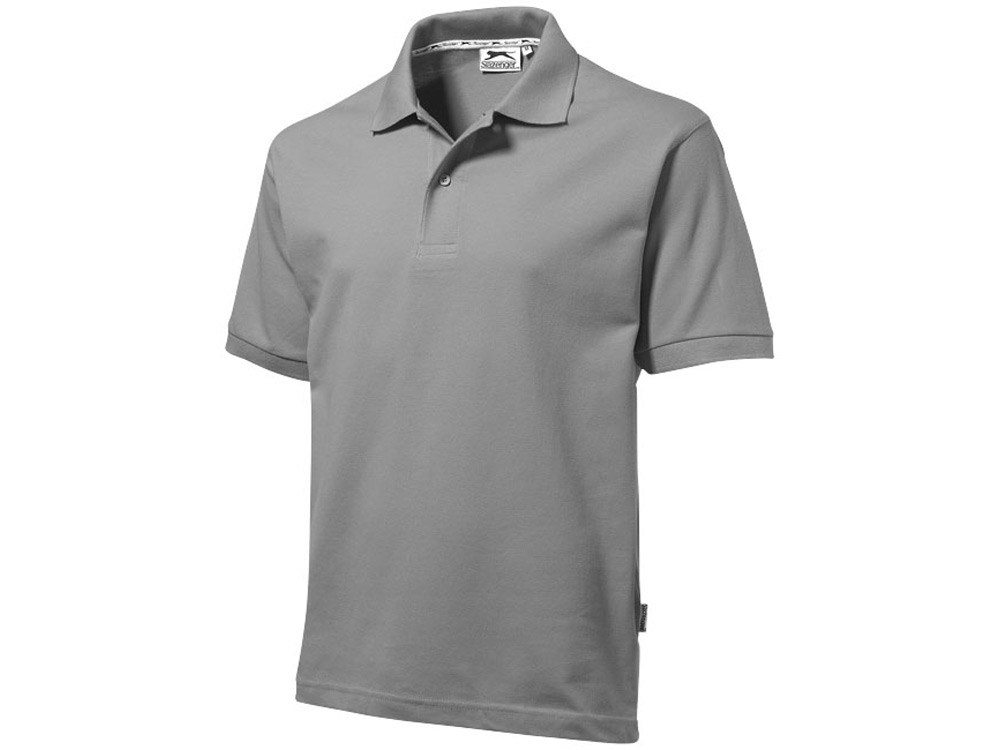 Рубашка поло Forehand мужская, стальной серый