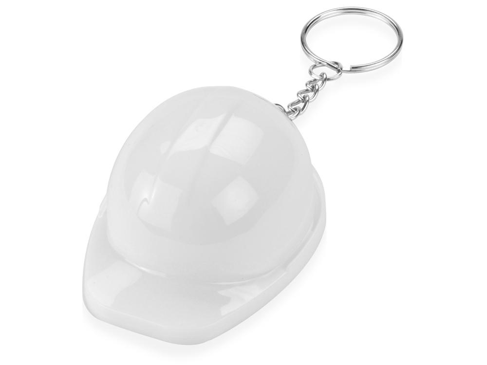 Брелок-открывалка Каска, белый