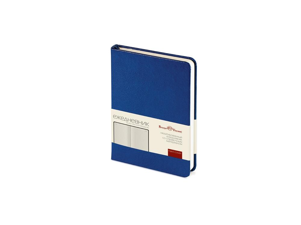 Ежедневник недатированный А6 Megapolis, синий