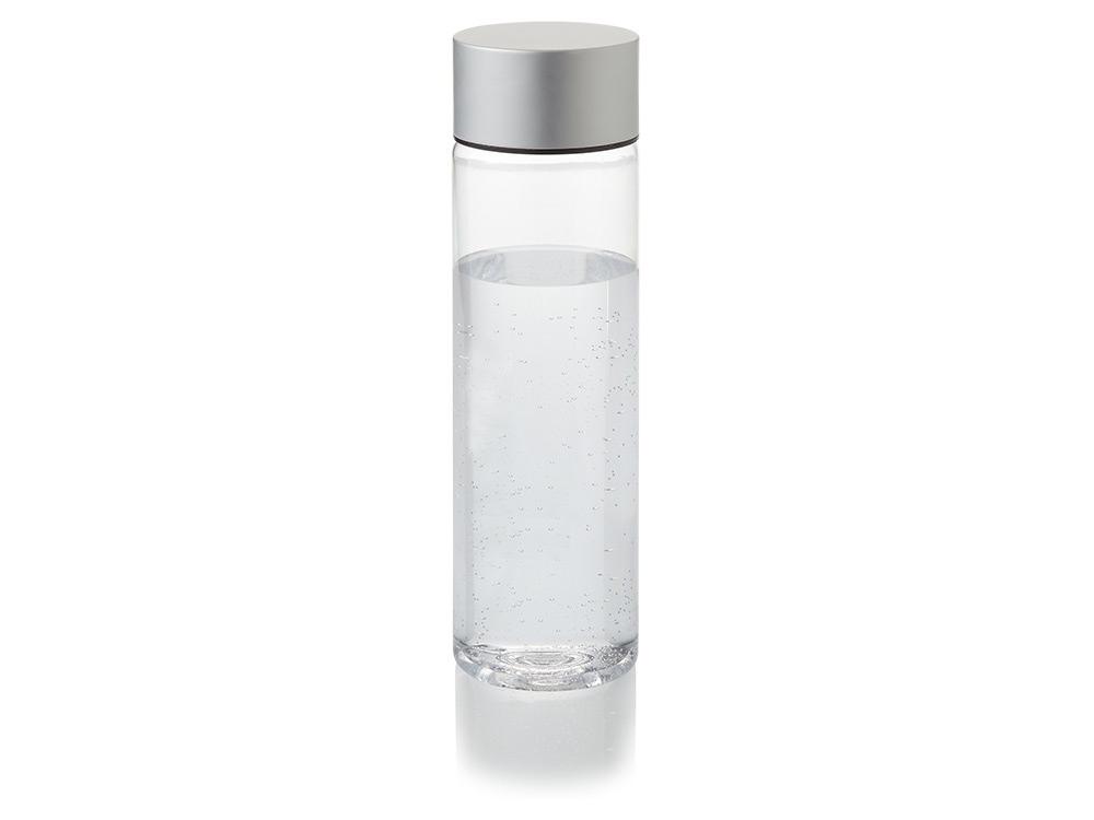 Бутылка Fox 900мл, прозрачный/серебристый