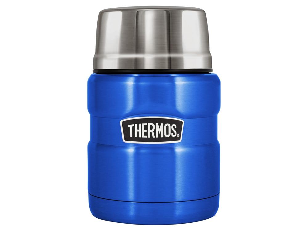 Термос из нерж. стали тм THERMOS SK3000-BL Food Jar 0.470L, синий