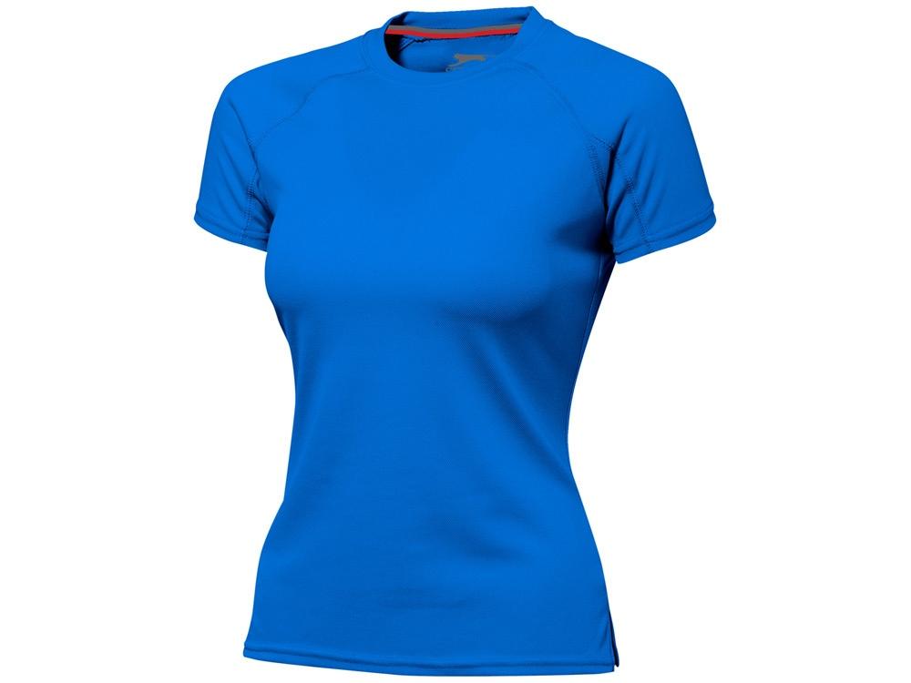 Футболка Serve женская, небесно-голубой