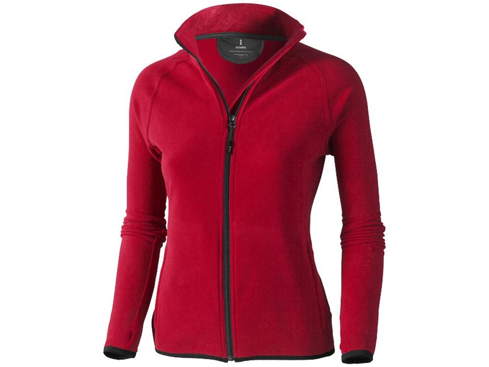 Куртка флисовая Brossard женская, красный