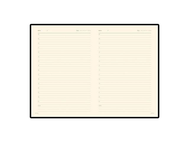Ежедневник А5 недатированный «Prestige», коричневый