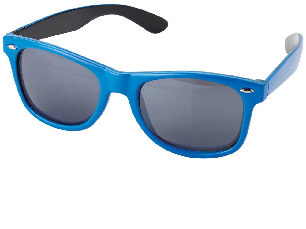 Очки солнцезащитные Crockett, синий/черный