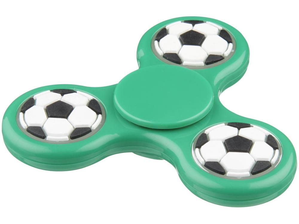Спиннер Fun Tri-Twist с мячами, зеленый