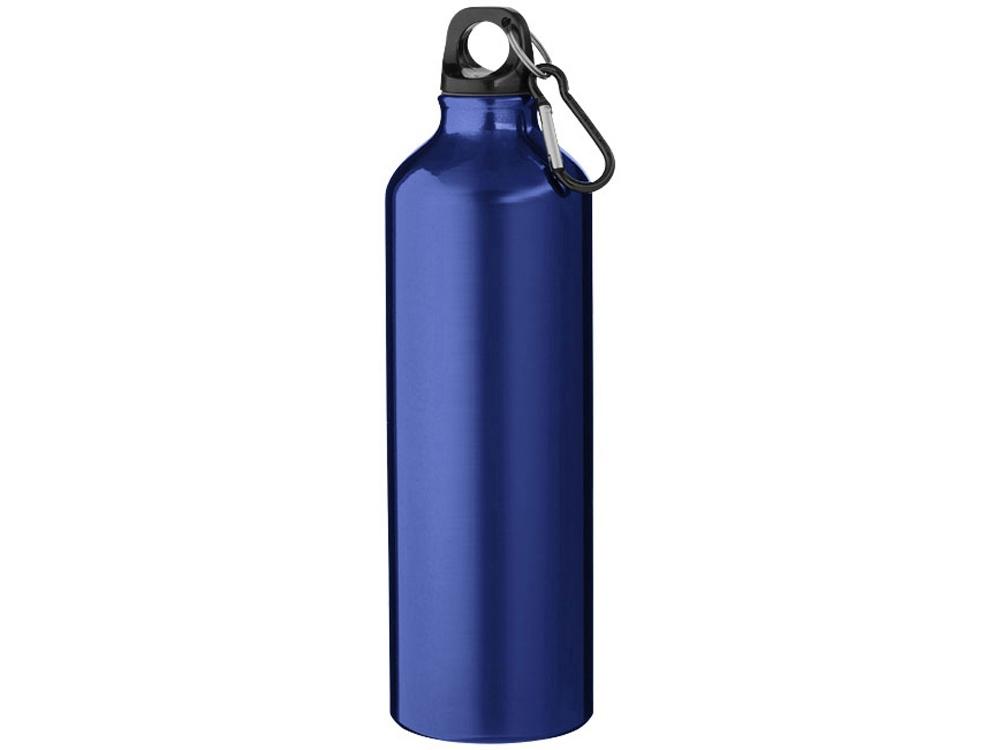 Бутылка Pacific с карабином, синий