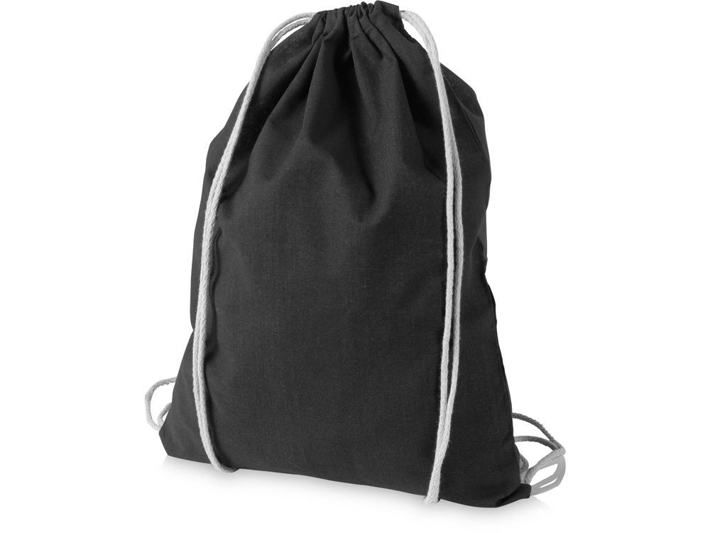 Рюкзак хлопковый Oregon, черный