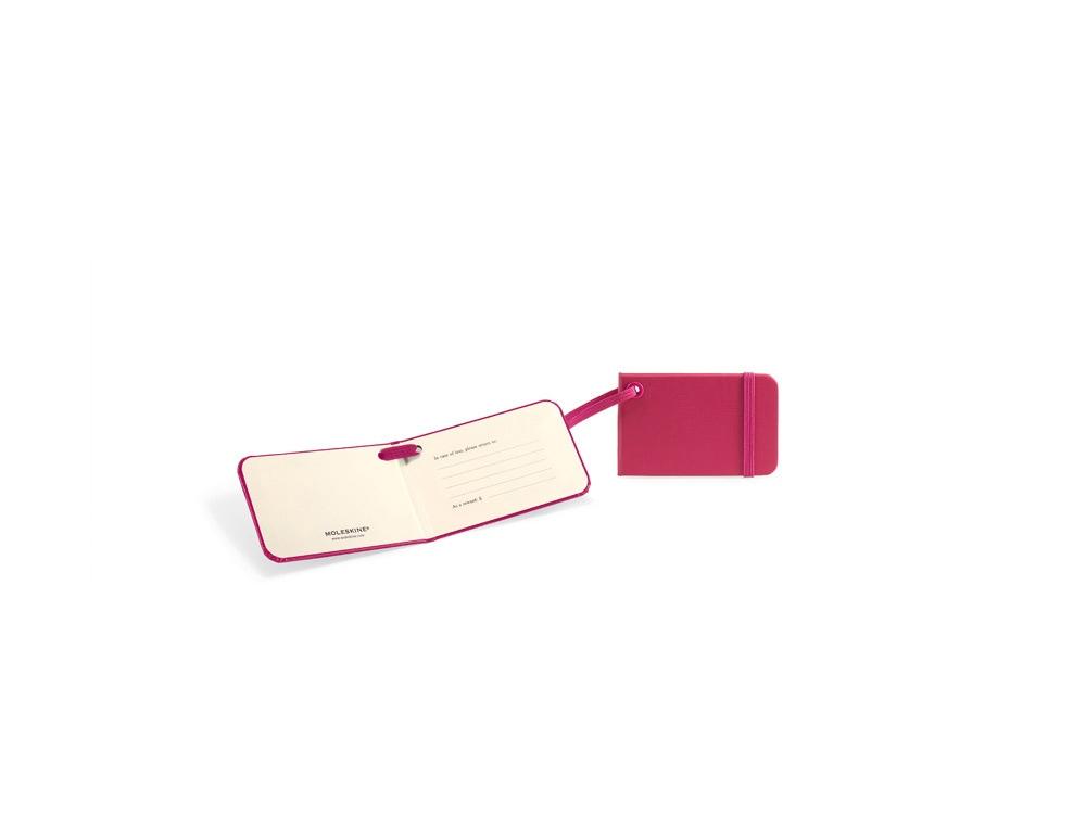 Ярлык для багажа Moleskine Luggage Tag, розовый