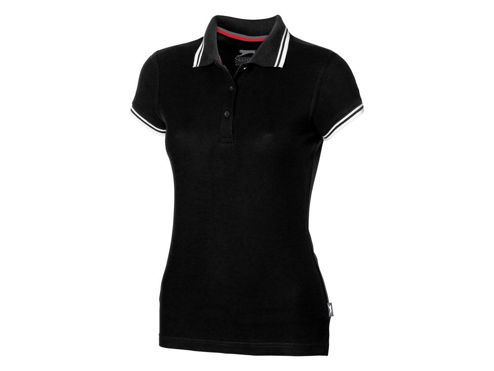 Рубашка поло Deuce женская, черный