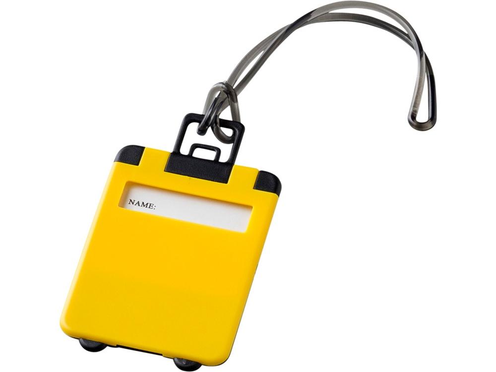 Бирка для багажа Taggy, желтый