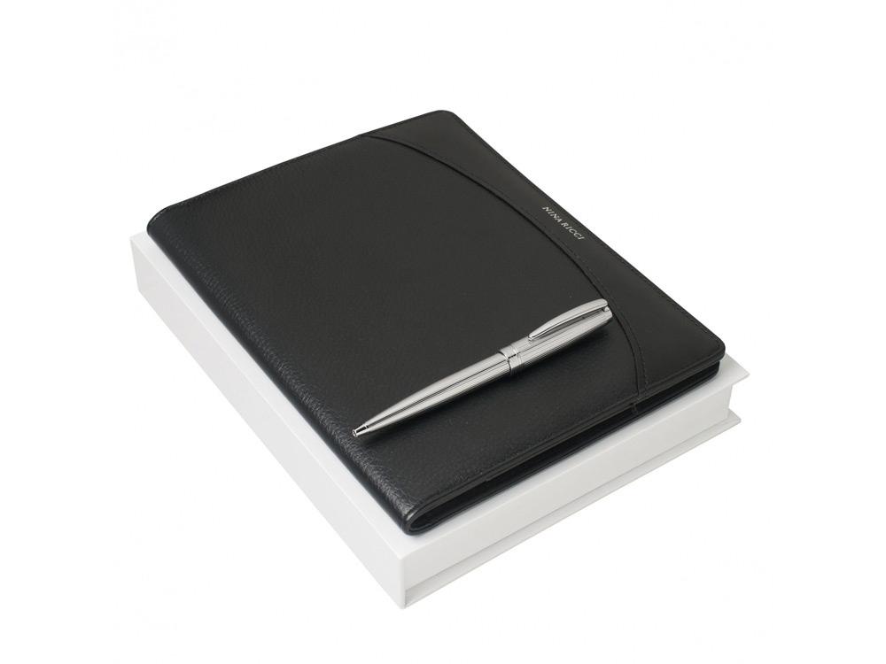 Подарочный набор Embrun: блокнот А5, ручка шариковая. Nina Ricci