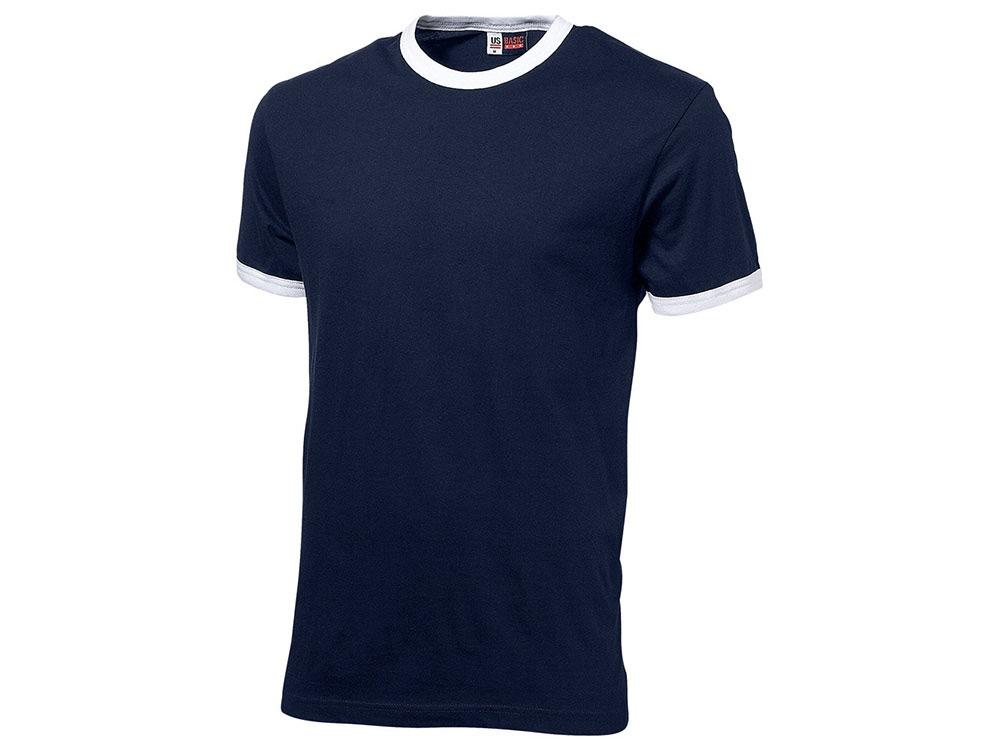 Футболка Adelaide мужская, темно-синий/белый