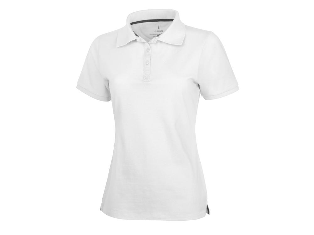 Рубашка поло Calgary женская, белый